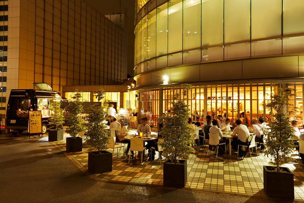 ICHOZAKA BEER GARDEN OUTDOOR TERRACE/品川プリンスホテル