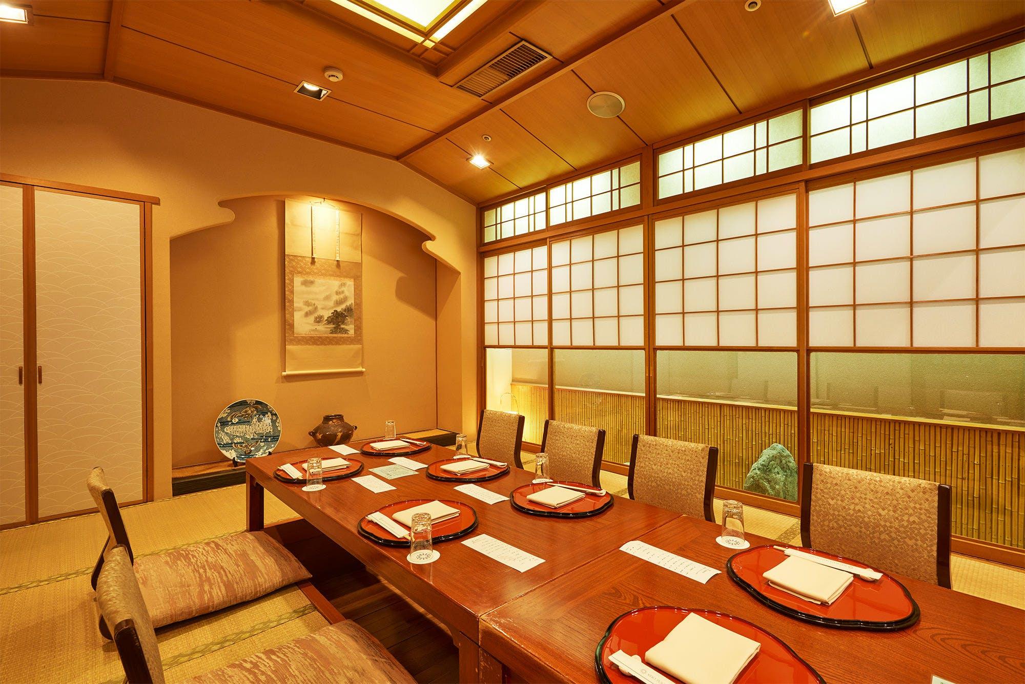 日本料理・鮨 あしび/京王プラザホテル多摩