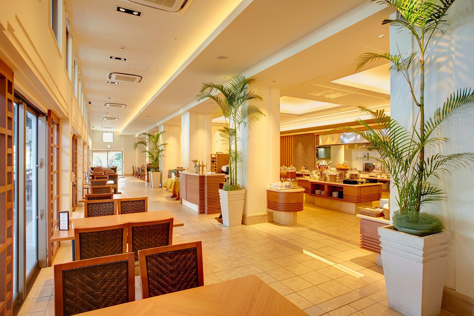 ビュッフェレストラン マーセン/ホテルマハイナ ウェルネスリゾートオキナワ