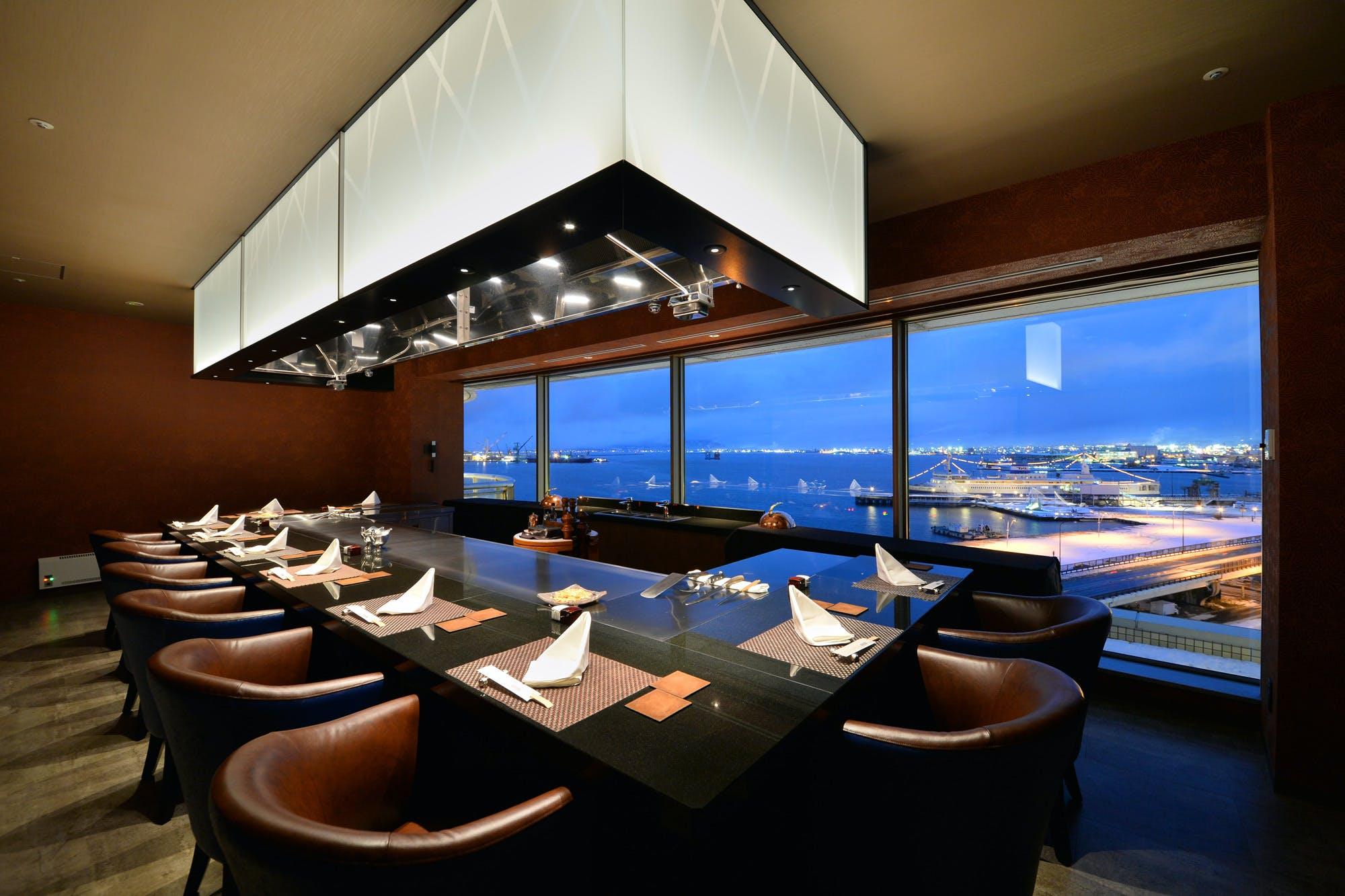 鉄板焼 VUE MER/函館国際ホテル