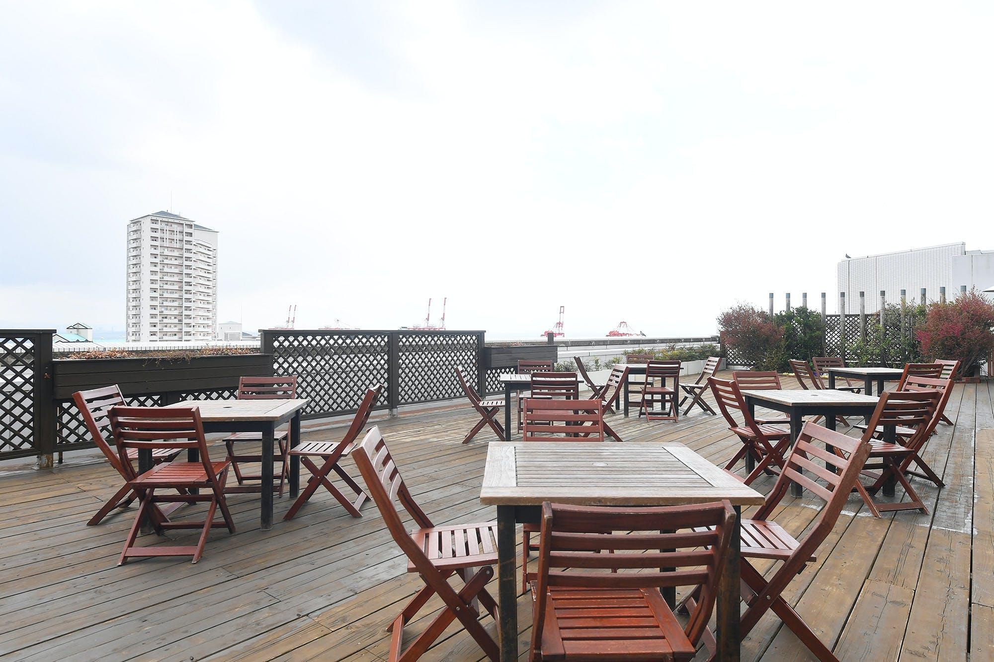 天空のガーデン&ベイサイドテラスBBQ/ホテルプラザ神戸