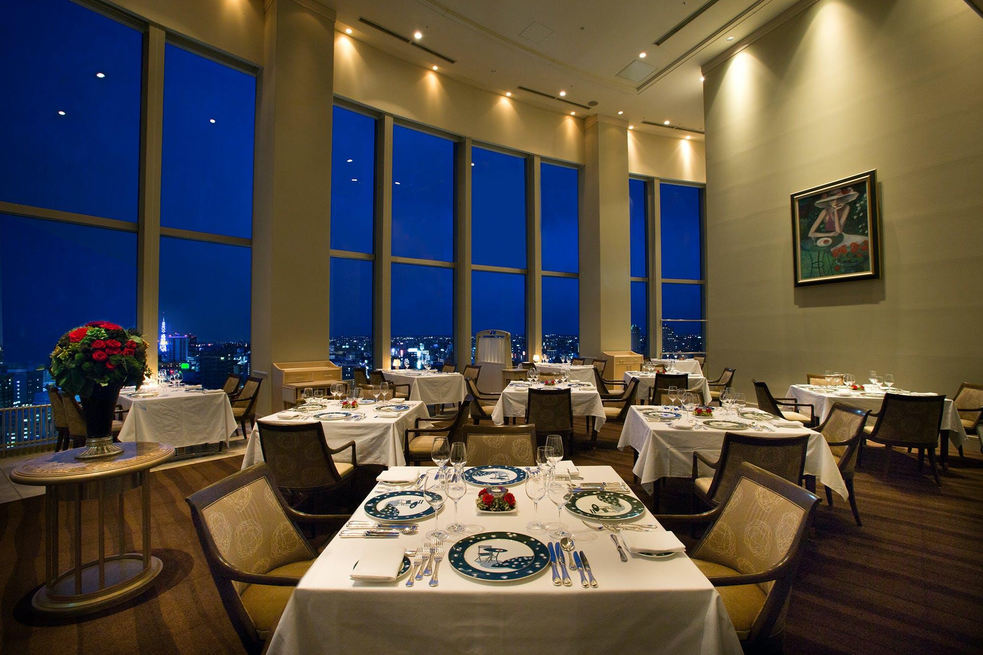 フランス料理 トリアノン/札幌プリンスホテル