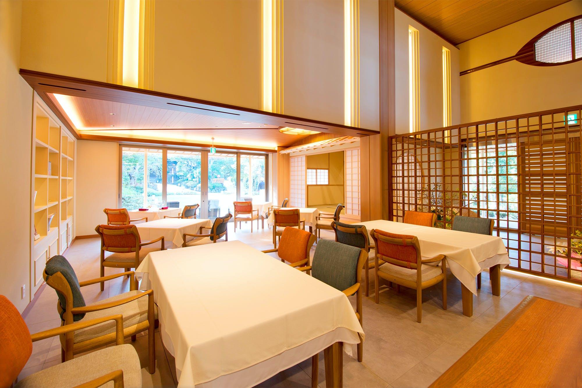 フレンチレストラン やまもも/ABBA RESORTS IZU - 坐漁荘