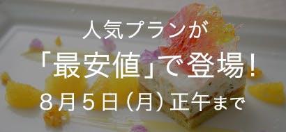 人気プラン最安値 7/22~8/5