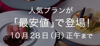 人気プラン最安値 10/15~10/28